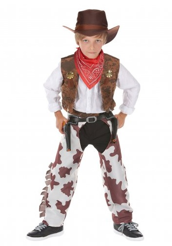 Cowboy-Kostüm-Jungen-Kinder