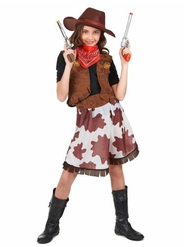 Cowgirl-Kostüm-Kinder-Mädchen