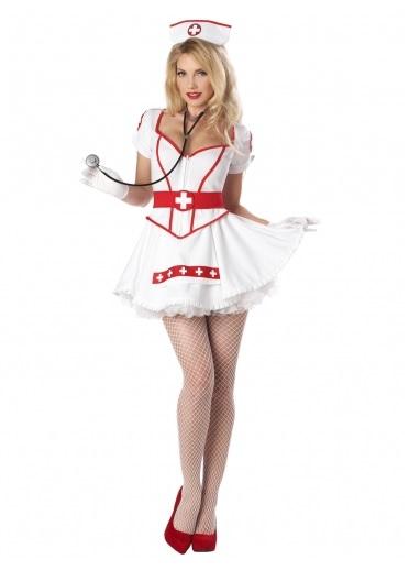 Faschingskostüm-Damen-Krankenschwester