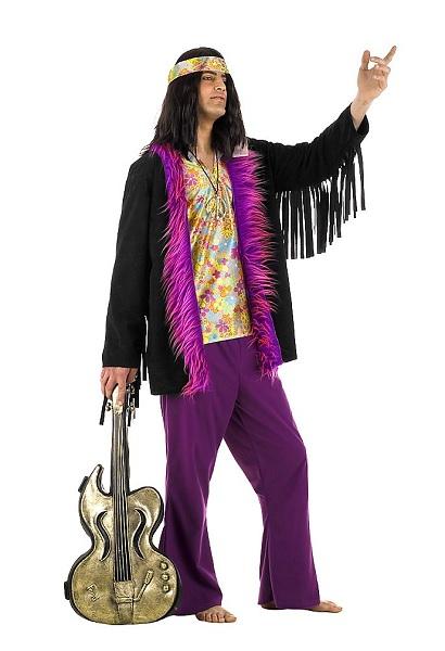 Faschingskostüm-Karnevalskostüm-Herren-Hippie