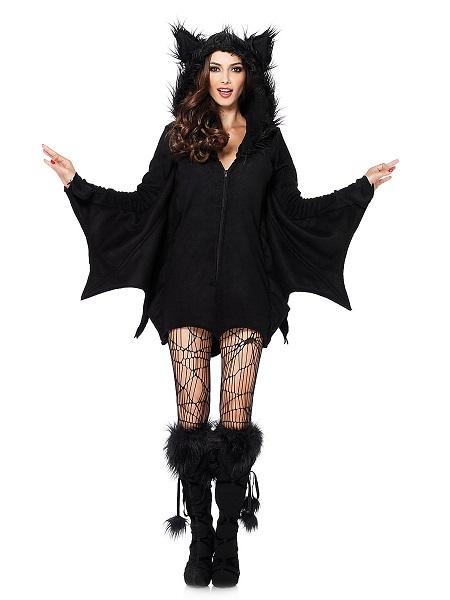 Fledermaus-Kostüm-Damen