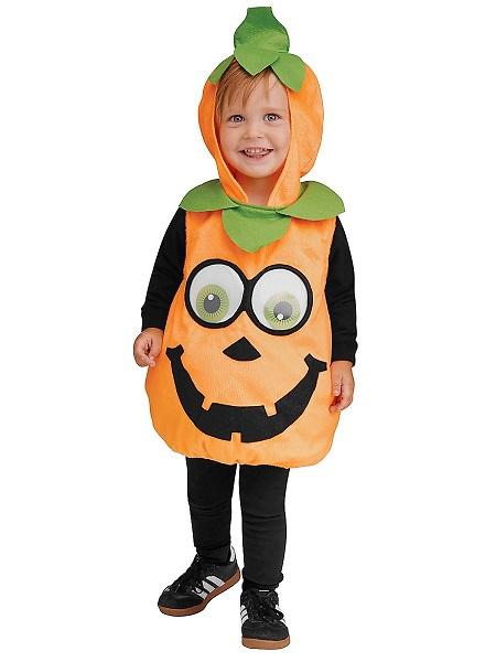 Halloween-Kinderkostüm-Kürbis-Jungen-Mädchen