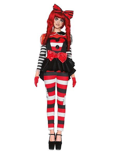 Halloween-Kostüm-Damen-Flickenpuppe
