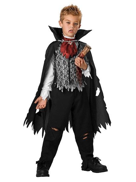 Halloween-Kostüm-Kinder-Jungen-Vampir