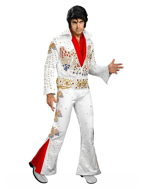 Hollywood-Kostüm-Herren-Männer-Elvis