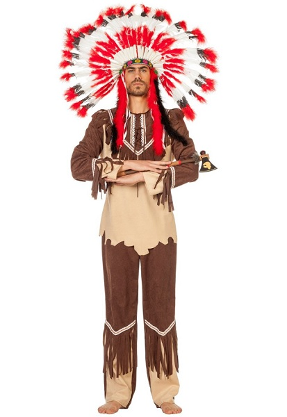 Indianer-Kostüm-Herren