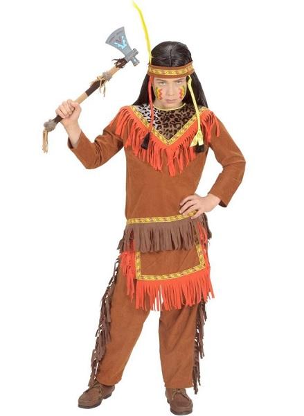 Indianer-Kostüm-Kinder-Jungen-Mädchen