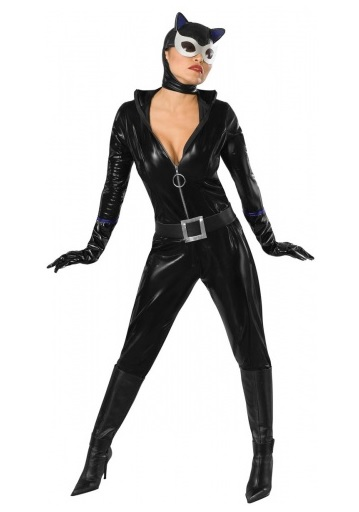 Karnevalskostüm-Damen-Catwoman