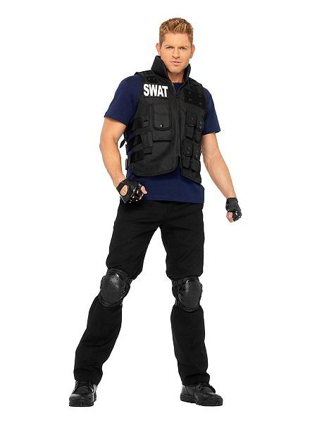 Karnevalskostüm-Faschingskostüm-Herren-Polizei