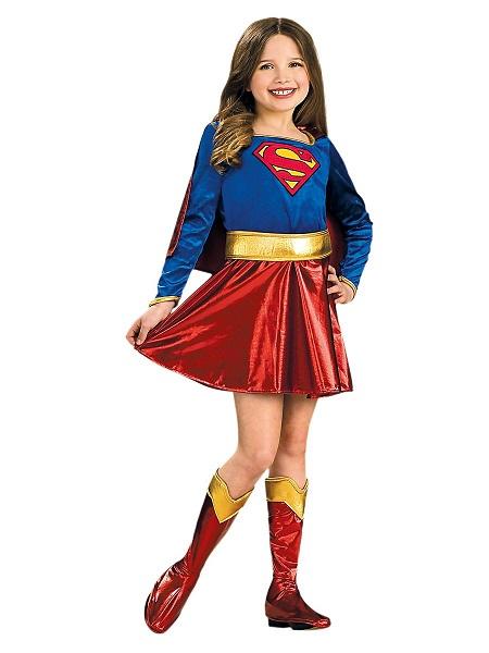 Kinderkostüm-Fasching-Karneval-Mädchen-Supergirl