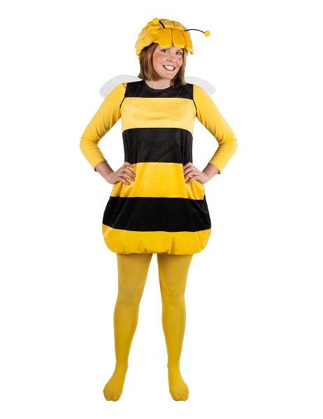 Kindheitshelden-Kostüm-Biene-Maja-Damen