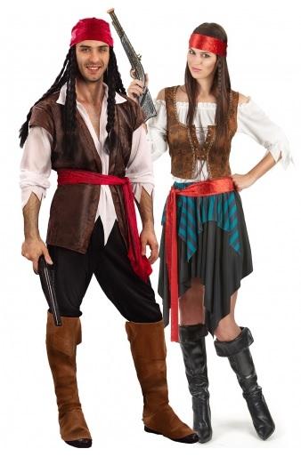 Partnerkostüm-Paarkostüm-Pärchenkostüm-Pirat