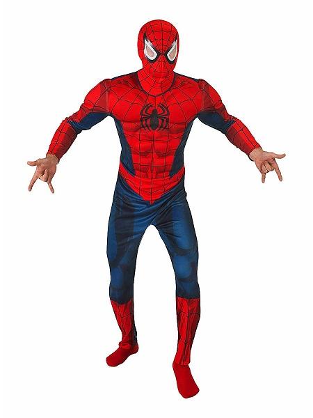 Superhelden-Kostüm-Herren-Spiderman