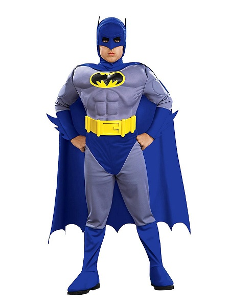 Superhelden-Kostüm-Kinder-Batman