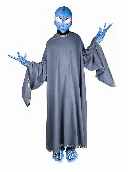 Alien-Kostüm-Herren-Männer-Erwachsene