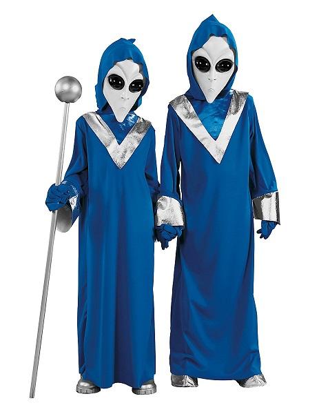 Alien-Kostüm-Kinder-Jungen-Mädchen