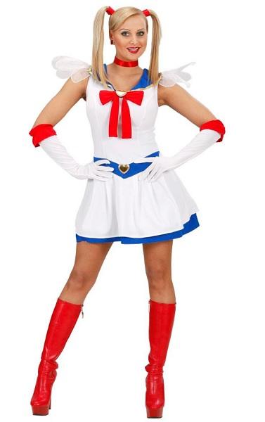 Anime-Manga-Kostüm-Damen-Frauen-Sailor-Moon