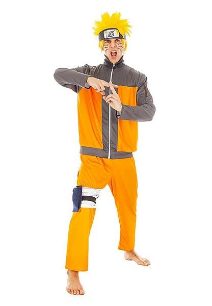 Anime-Manga-Kostüm-Herren-Naruto