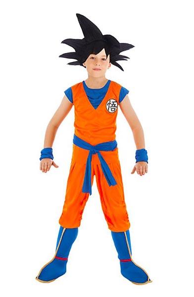 Anime-Manga-Kostüm-Kinder-Jungen-Son-Goku