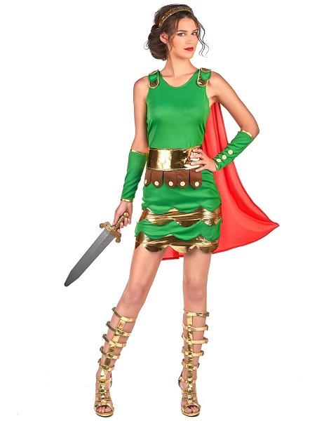 Faschingskostüm-Karnevalskostüm-Damen-Römerin-Kostüm