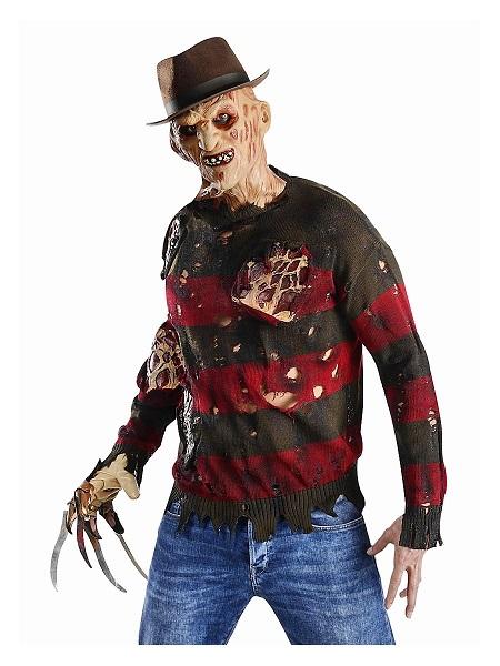 Freddy-Krüger-Kostüm-Herren-Männer-Erwachsene