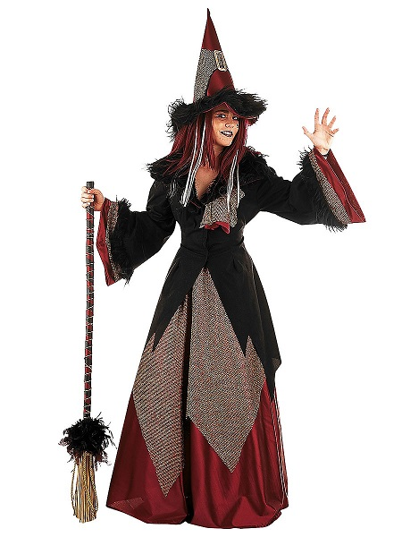 Halloween-Kostüm-Outfit-Hexenkostüm-Damen