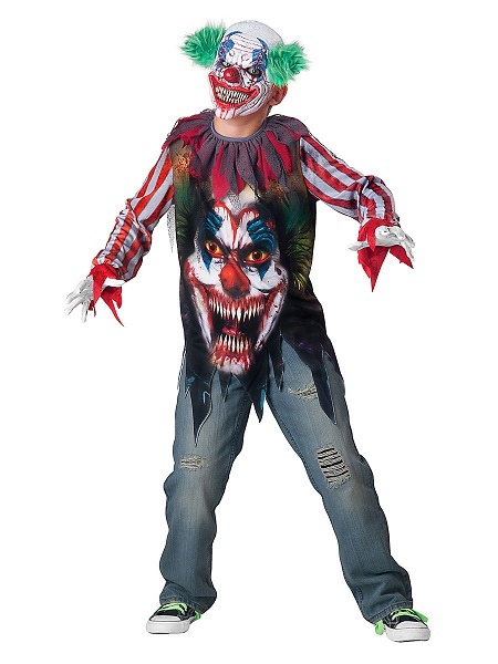 Horrorclown-Kostüm-Kinder-Jungen