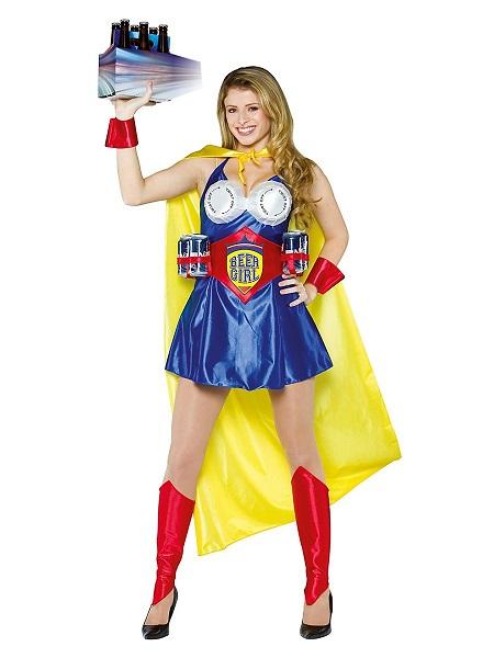 Lustiges-Kostüm-Damen-Frauen-Beer-Girl