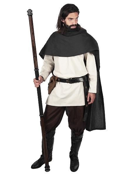 Mittelalter-Kostüm-Herren-Mantel-Umhang
