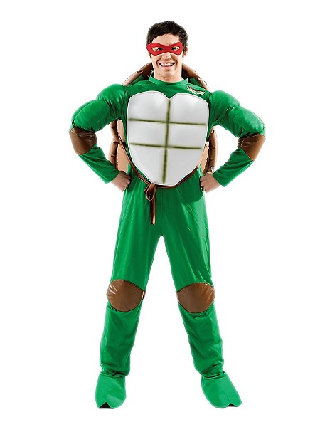 Ninja-Turtles-Kostüm-Herren-Männer-Raphael