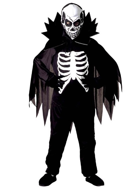 Skelett-Kostüm-Kinder-Jungen