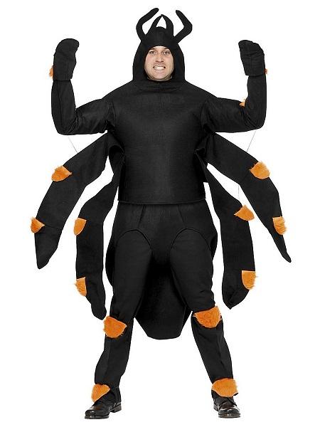 Spinnenkostüm-Herren-Männer-Erwachsene