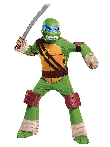 Teenage-Mutant-Ninja-Turtles-Kostüm-Kinder-Jungen-Mädchen-Leonardo