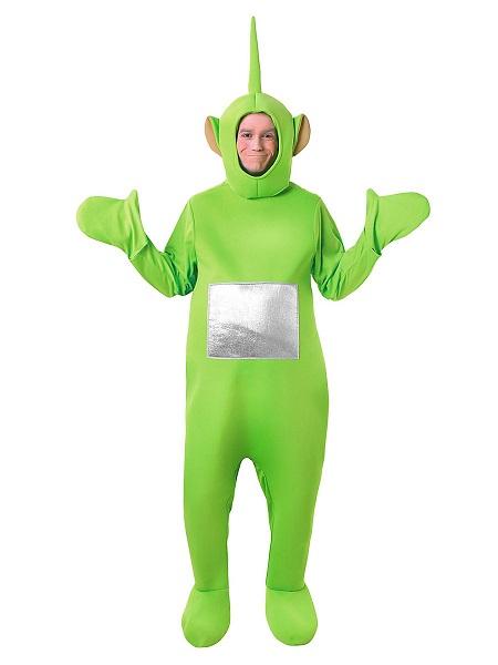 Teletubbies-Kostüm-Dipsy-grün