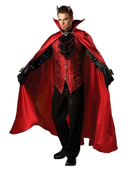 Teufel-Kostüm-Herren-Männer-Erwachsene