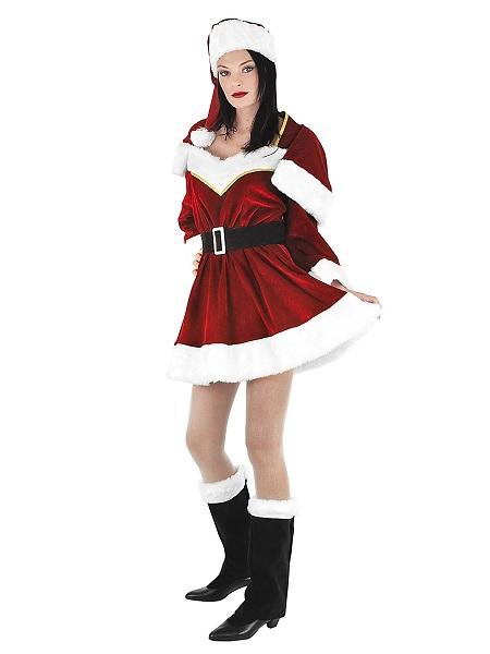 Weihnachtskostüm-Damen-Weihnachtsfrau