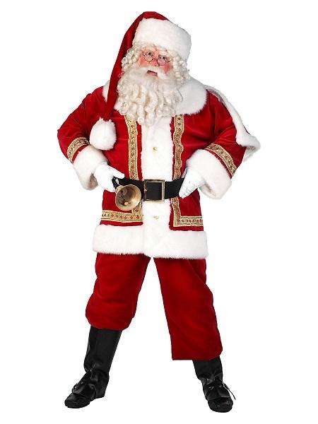 Weihnachtskostüm-Herren-Weihnachtsmann