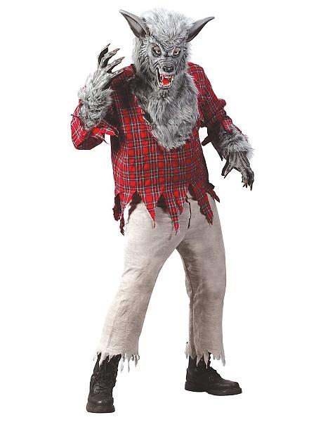 Werwolf-Kostüm-Herren-Männer-Erwachsene