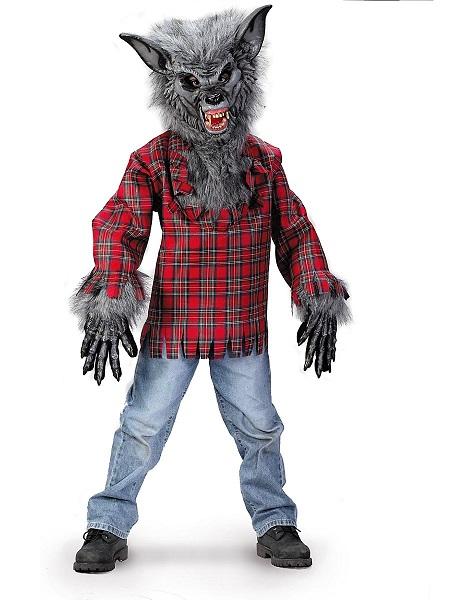 Werwolf-Kostüm-Kinder-Jungen-Mädchen