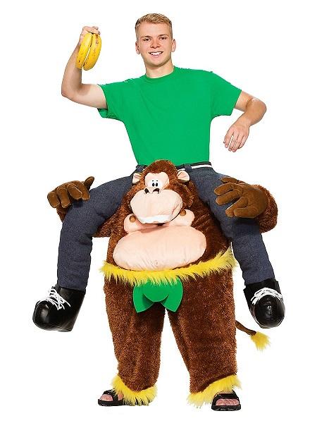 Witziges-Lustiges-Kostüm-Herren-Männer-Huckepack-Carry-Me-Kostüm-Affe