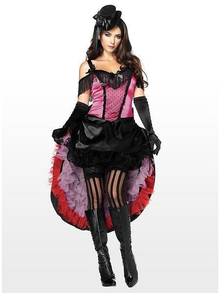 Zirkus-Kostüm-Damen-Tänzerin