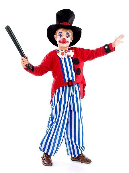 Zirkus-Kostüm-Kinder-Jungen-Clown