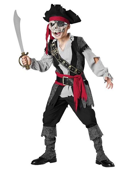 Zombie-Kostüm-Kinder-Pirat-Jungen