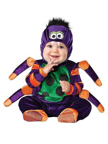 Baby-Kostüm-Kinder-Kleinkinder-Spinne
