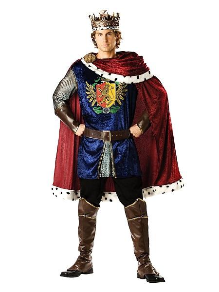 König-Kostüm-Herren-Männer-Erwachsene