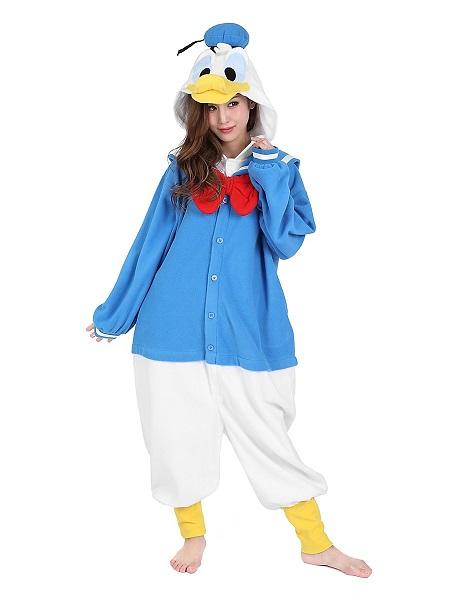 Kigurumi-Kostüm-Donald-Duck-Damen-Frauen-Erwachsene