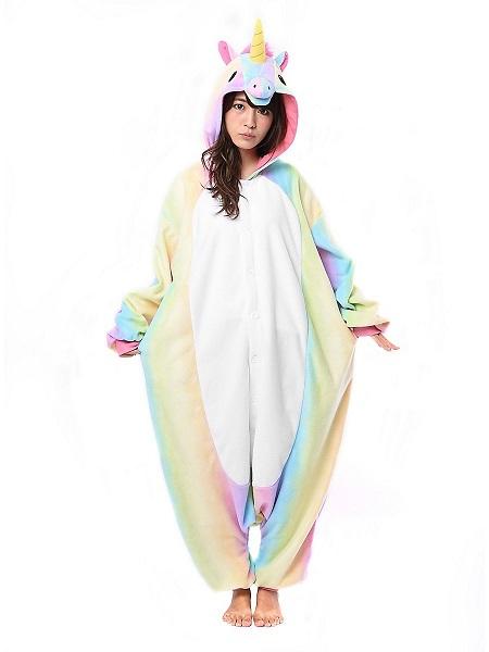 Kigurumi-Kostüm-Einhorn-Damen-Frauen-Erwachsene