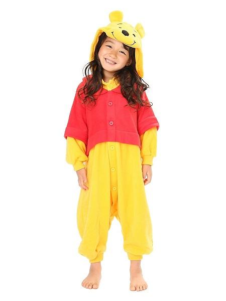 Kigurumi-Kostüm-Winnie-Pooh-Kinder-Mädchen