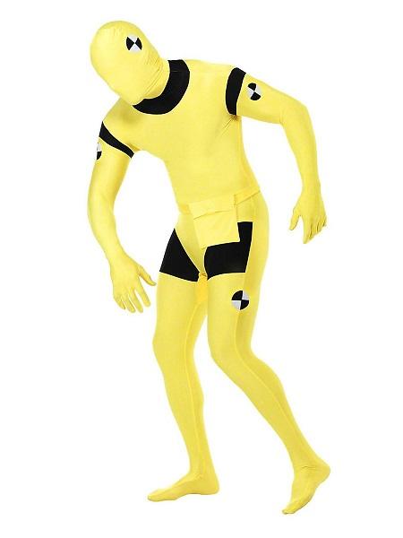 Morphsuit-Ganzkörperanzug-Ganzkörperkostüm-Crash-Test-Dummy