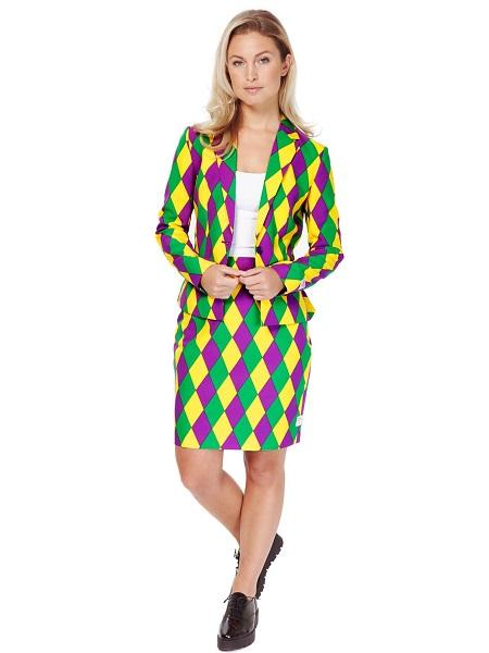 Opposuits-Anzug-Harlequeen-Damen-Frauen-Erwachsene